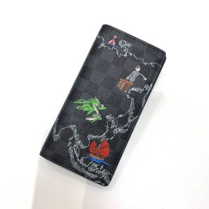 ダミエ・グラフィットマップ ポルトフォイユ・ブラザ N40202 (新品)